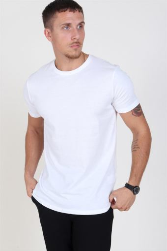Rock S/S Organic T-shirt White