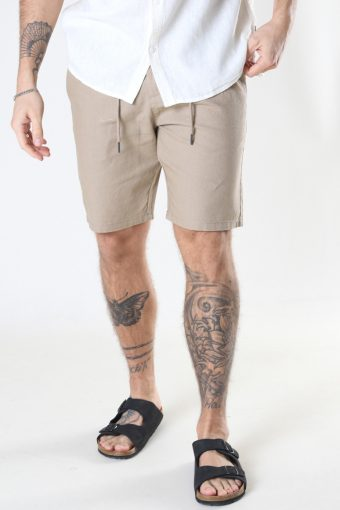ONSLEO SHORTS LINEN MIX GW 9201 NOOS Chinchilla