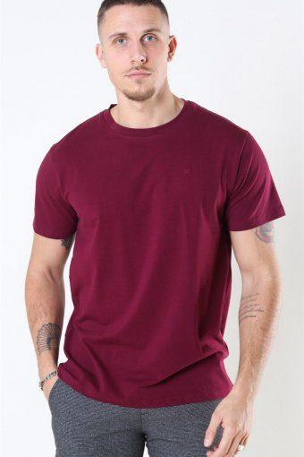 Clean Cut Miami Stretch T-shirt Bordeaux