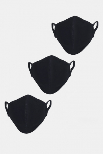 Stretch Mundstück 3-pack Black