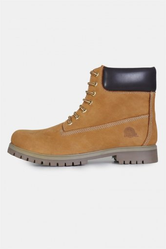 Cow Nabuk Stiefel Yellow/Brown