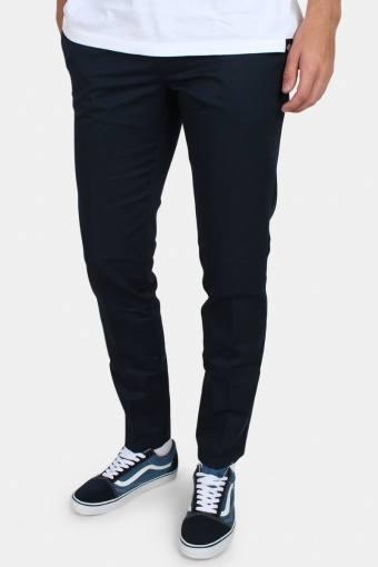 Work Pants Slim Fit Dark Navy