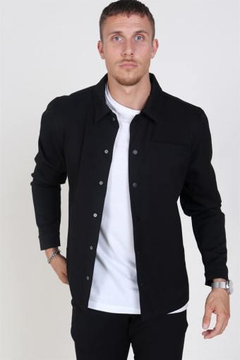 Brenti Overshirt Black