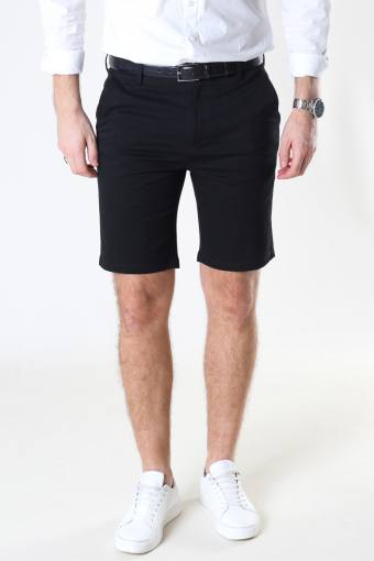 Milano Drake Stretch Shorts Black