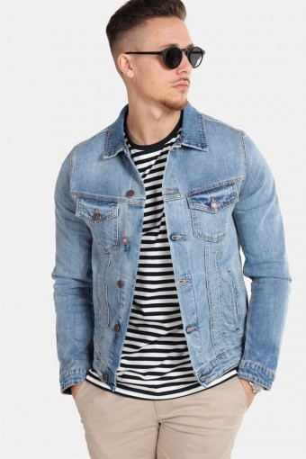 Alvin Denim Jacke SA 002 Noos Blue Denim