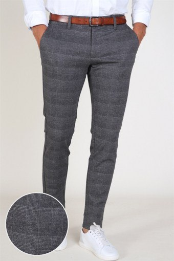 Mark Pants Dark Grey Melange