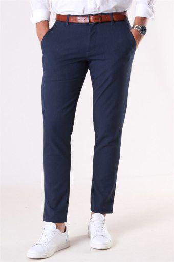 Tailored & Originals Fred Pants Navy Mel