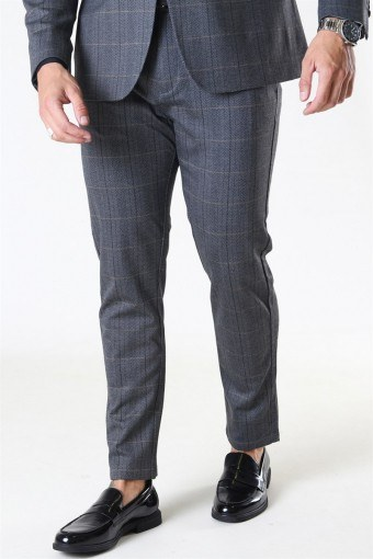 Clean Cut Milano Sean Pants Grey Check