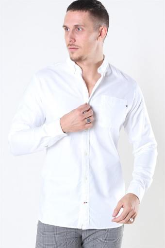 Classic Soft Oxford Hemd LS White