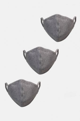 3-Pack Mundstück Oxford Grey
