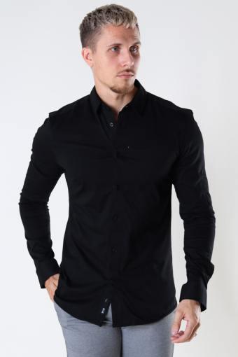 ONSMILES LS STRETCH Hemd Black