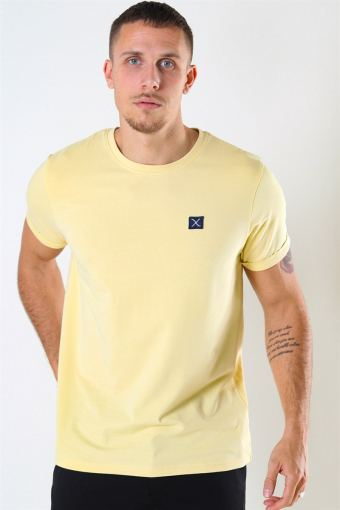 Clean Cut Basic Organic T-shirt Pastel Yellow