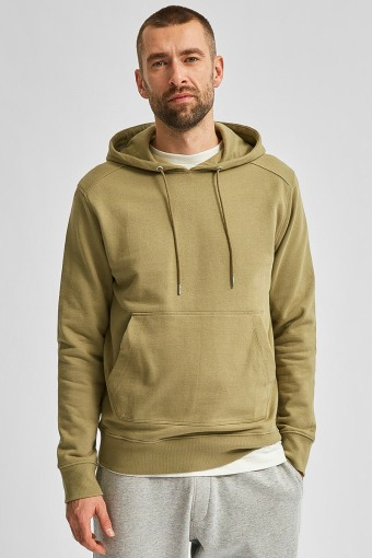 SLHJACKSON380 HOOD SWEAT S Aloe