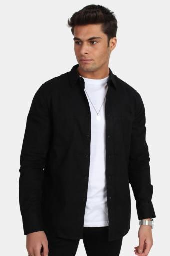 Uhrban Classics TB297 Checked Flanell Skjorte Black/Black