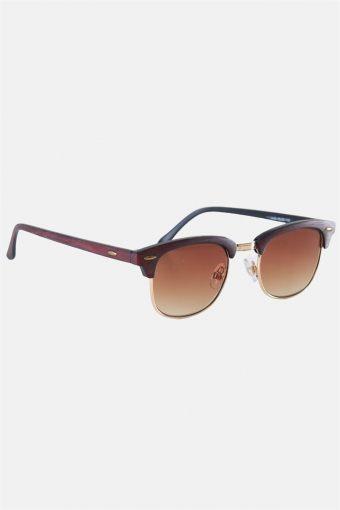 Fashion Clubmaster 1449 Sonnenbrille Trælook/Guld