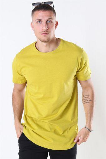 Uhrban Classics TB638 T-shirt Lemon Mustard