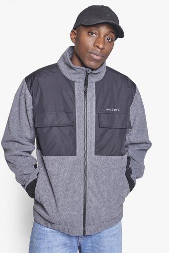 Strukt Zip Fleece Dark Grey
