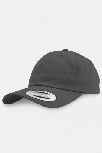 Flexfit Low Profile Cotton Twill Baseball Cap Silver