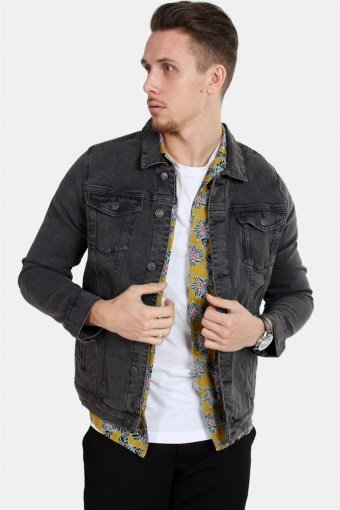 Kash Denim Jacke Grey