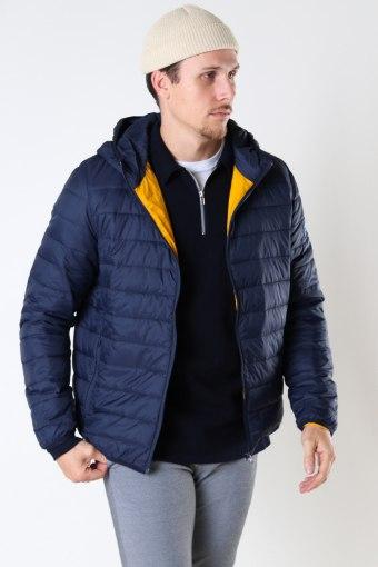 Shane Quilt Jacket Navy