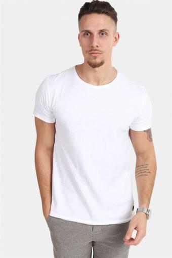Konrad Slub S/S T-Hemd White