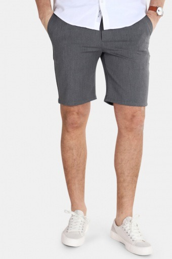 Steffen Twill Shorts Light Grey