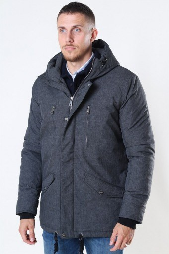 Anders Parka Jacke Charcoal Mix