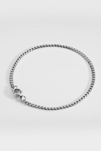 Minimal Sequence Armbånd Silver