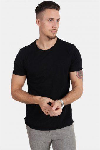 Konrad Slub S/S T-shirt Black