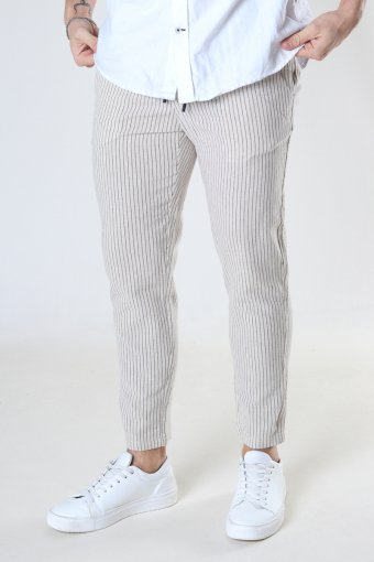 ONSLINUS LIFE CROP TAP PANT GW 9199 Raw Cotton