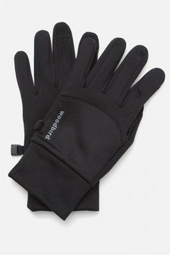 Sly Logo Handschuhe Black