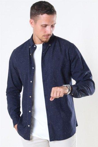 Blalogo Autumn Hemd L/S Navy Blazer