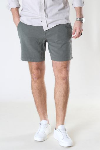 SLHSTORM FLEX SHORTS W NOOS Agave Green Mix - Black Ink