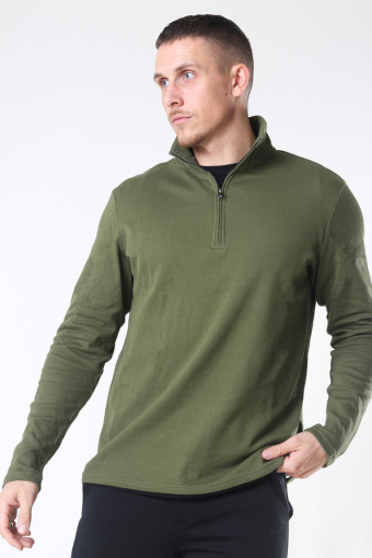 Tailored & Originals Theo LS Stricken Winter Moss