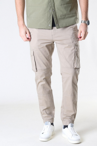 Cam Stage Cargo Cuff Pants Chinchilla