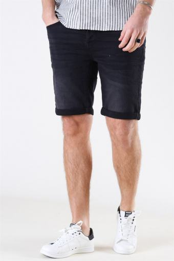 Rick Icon 010 Shorts Black Denim