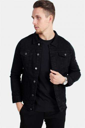 Kash Denim Jacke Black