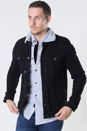 Kash Teddy Denim Jacke