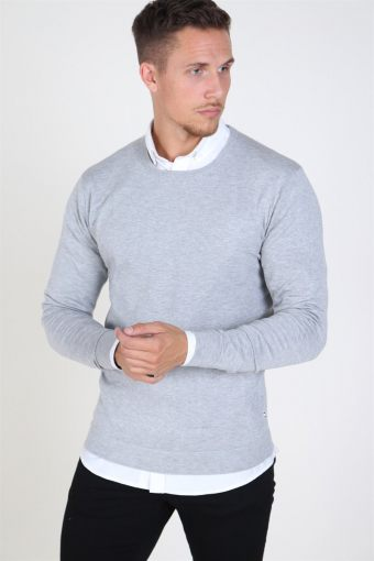 Tailored & Originals Mont Stricken Light Grey Melange