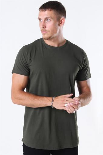 Dew SS Long T-shirt Forest Night