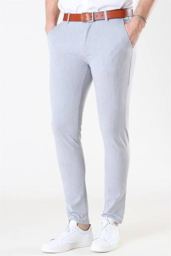 Tailored & Originals Frederic Pants Light Grey Melange