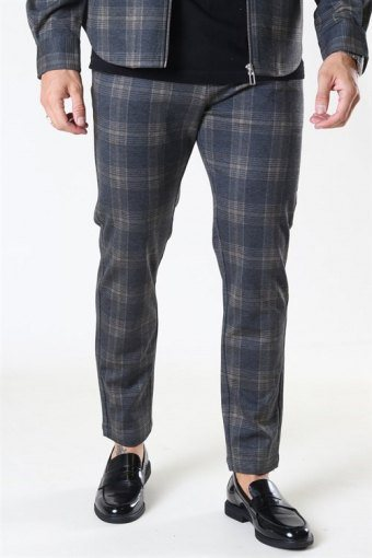 Clean Cut Milano Max Pants Dark Grey/Camel