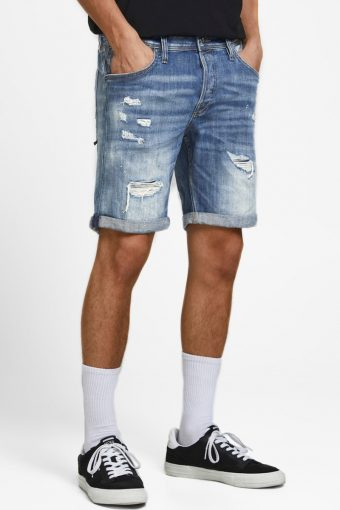 JJIRICK JJFOX  SHORTS GE 740 STS Blue Denim