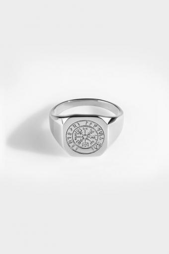 Vegvisir SignatUhre Ring Silver