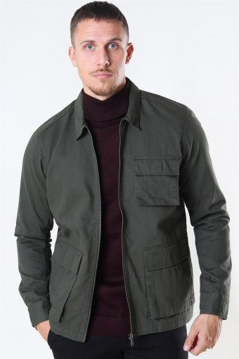 Eddie LS Pocket Jacke Deep Depths