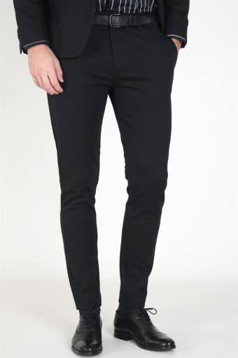 Clean Cut Milano Jersey Pants Black