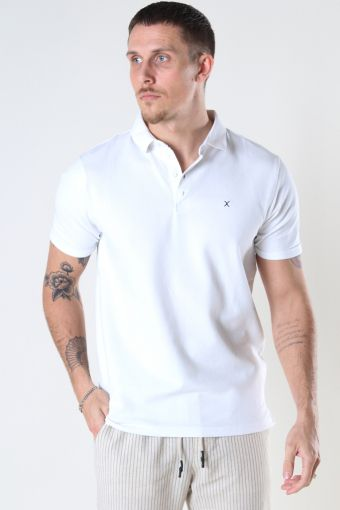 Silkeborg Stretch Polo White