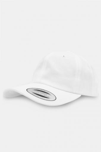 Flexfit Low Profile Cotton Twill Baseball Cap White