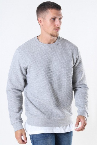 Tailored & Originals Ravn Sweatshirt Light Grey Melange