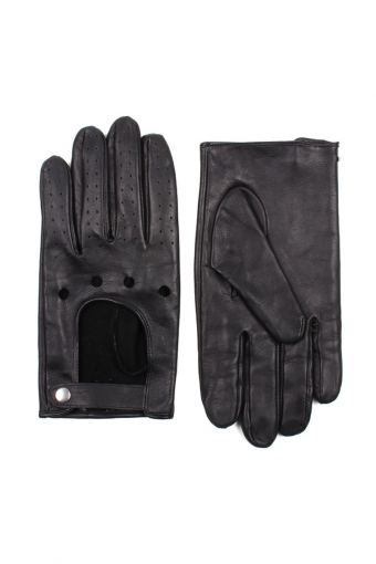 Men Driving Handschuhe Black